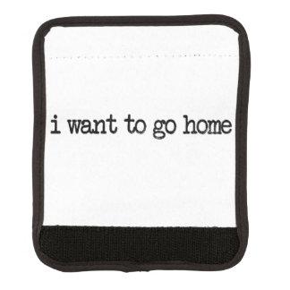 quiero ir a casa funda para asa de maleta