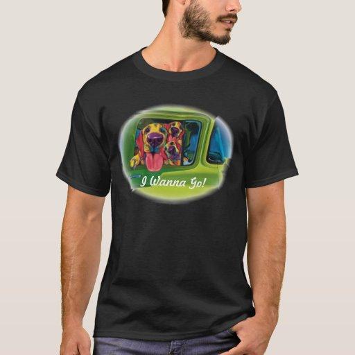 Quiero ir camiseta