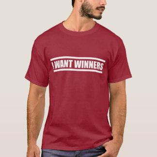 Quiero la camisa del fútbol de los ganadores