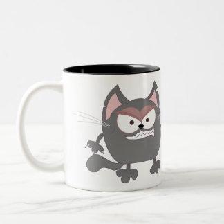 ¡Quiero MAULLIDO correcto del café! taza