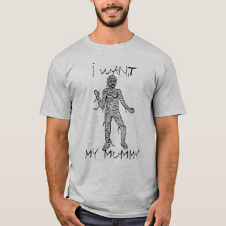 Quiero mi camiseta de la momia