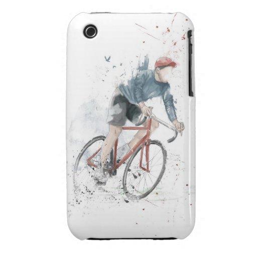 Quiero montar mi bicicleta iPhone 3 Case-Mate funda