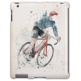 Quiero montar mi bicicleta funda para iPad