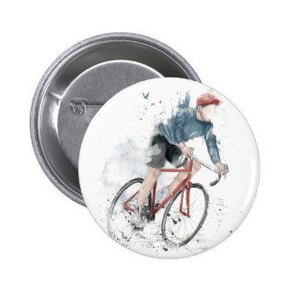 Quiero montar mi bicicleta pin redondo 5 cm