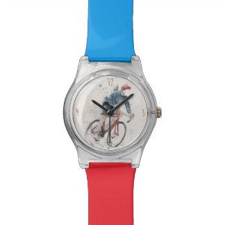 Quiero montar mi bicicleta relojes