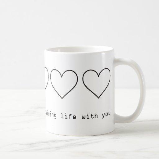 Quiero pasar mi vida restante con usted taza clásica