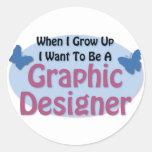 Quiero ser diseñador gráfico etiquetas