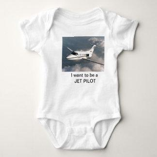 Quiero ser PILOTO de JET Body Para Bebé