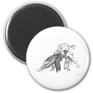 Quiero Tango 2 Inch Round Magnet