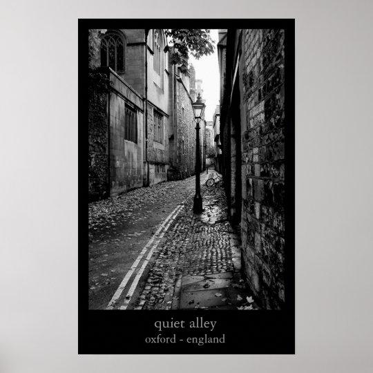 quiet alley poster