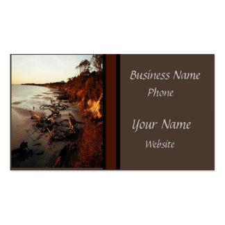 Quiet Beach Business Card