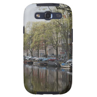 Quiet Canal Scene - Amsterdam Holland Netherlands Samsung Galaxy S3 Cover