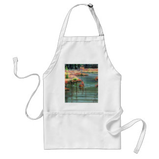 QUIET CANOE by SHARON SHARPE Adult Apron