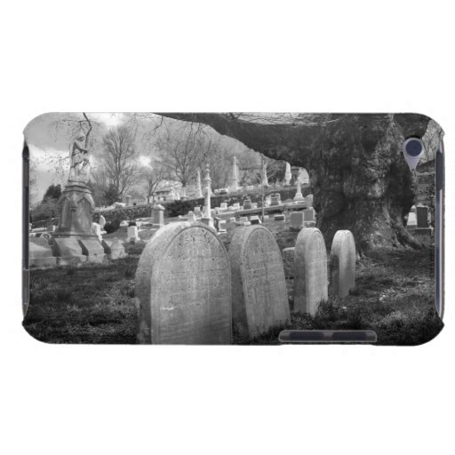 quiet cemetery barely there iPod case