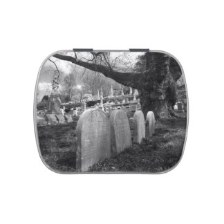 quiet cemetery jelly belly tin