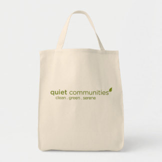 Quiet Communities Tote Bag