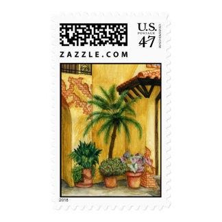 Quiet Corner Postage Stamp