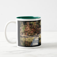 Quiet Courage Inspirational Verse mug