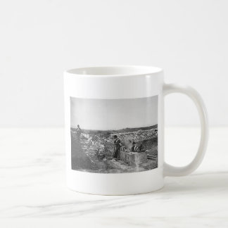 Quiet Day in the Mortar Battery ~ 1855 Coffee Mugs