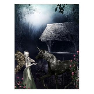 Quiet Evening Faerie Fantasy Postcard