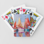 Quiet Harbor Bicycle Playing Cards