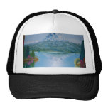 quiet lake Ball Cap Hats