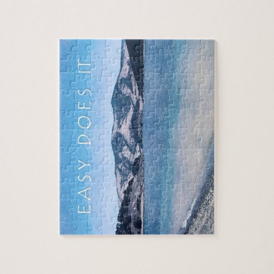 Quiet Lake Easy Does It Jigsaw Puzzle