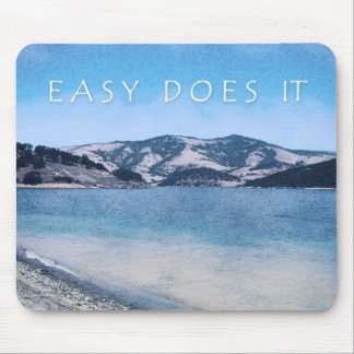 Quiet Lake Easy Does It Mouse Pad