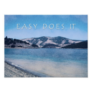 Quiet Lake Easy Does It Poster