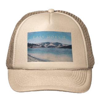 Quiet Lake Easy Does It Trucker Hat