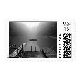 Quiet Lake Postage Stamp