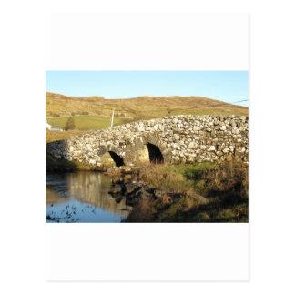 Quiet man bridge postcard
