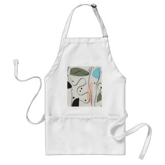 Quiet Meditation 7 Adult Apron
