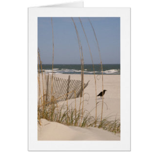 Quiet Moment on a Hilton Head Beach Stationery Note Card