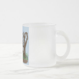 Quiet Moments Frosted Glass Mug