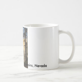 Quiet Mountain Trail, Kyle Canyon, Spring Mount... Coffee Mug