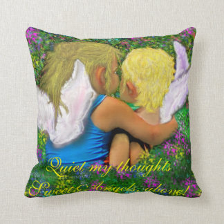 Quiet My thoughts Throw Pillow