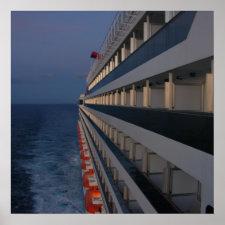 Quiet Night at Sea print
