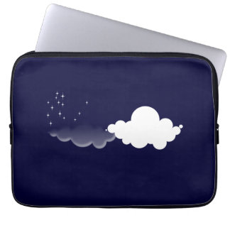 Quiet night laptop sleeve
