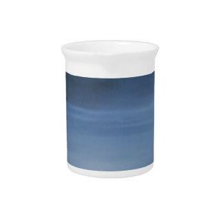 quiet ocean night alone beverage pitcher