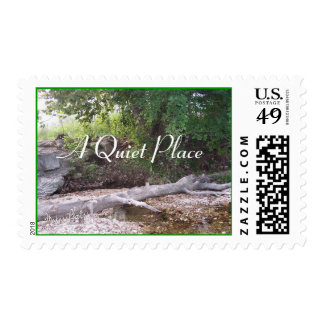 Quiet Place Stamp-customize Postage Stamp