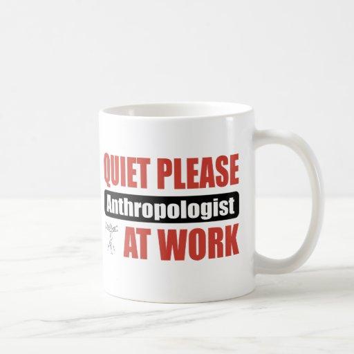 Quiet Please Anthropologist At Work Mug