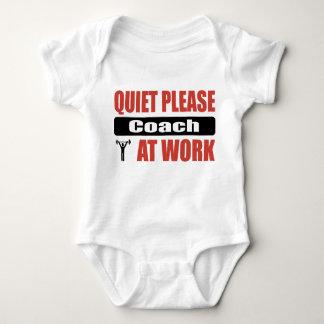 Quiet Please Coach At Work T-shirt