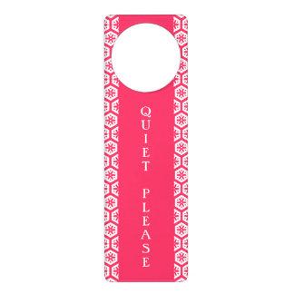 Quiet Please!-Decorative Door Hangers