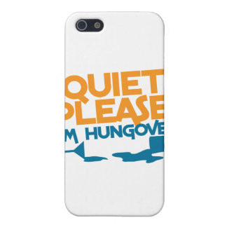 Quiet Please ... I'm hungover Cover For iPhone SE/5/5s