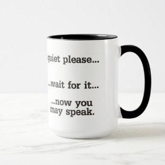 Quiet Please Mug