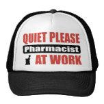 Quiet Please Pharmacist At Work Trucker Hat