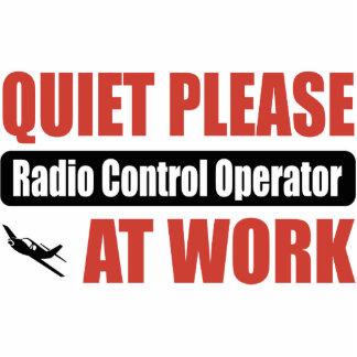 Quiet Please Radio Control Operator At Work Photo Sculpture Ornament