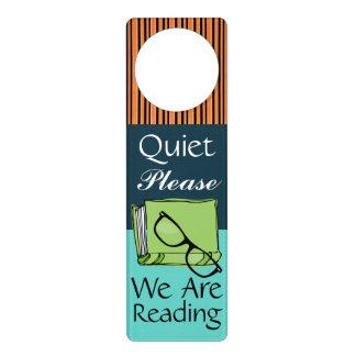 Quiet Please - Reading -  Door Hanger - SRF