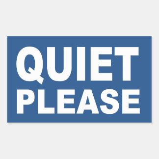 quiet please sign - photo #5